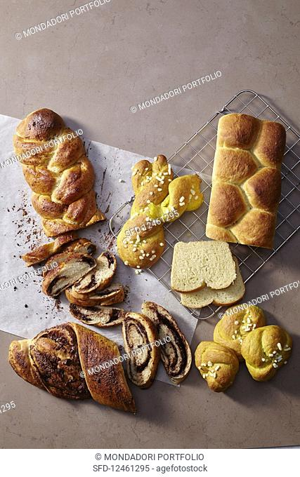 Vegan yeast breads