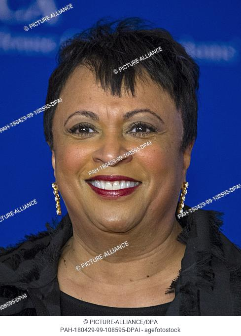 Librarian of Congress Carla Hayden arrives for the 2018 White House Correspondents Association Annual Dinner at the Washington Hilton Hotel on Saturday