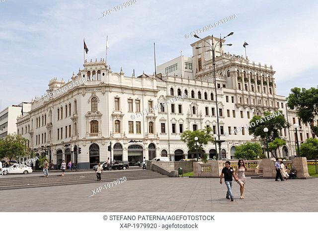 Edificio Fenix, Plaza San Martin, Lima, Peru