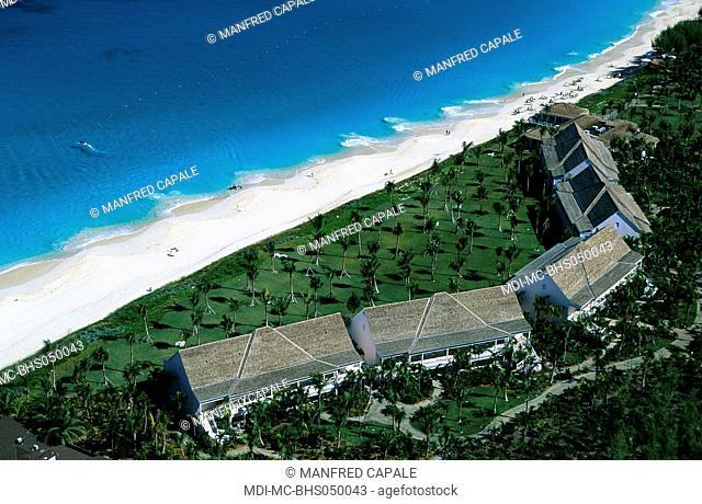 Aerial view of the hotel Ocean Club