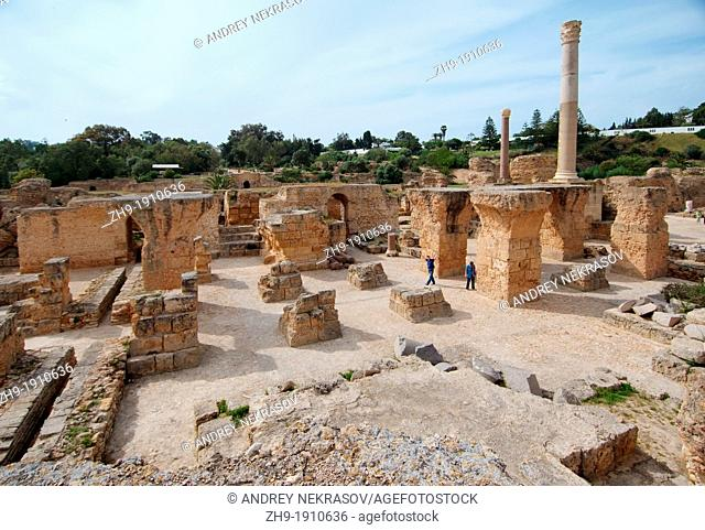 Ancient Carthage, antique city, Tunisia, Africa