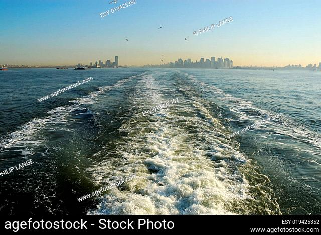 Fähre von New York nach Staten Island