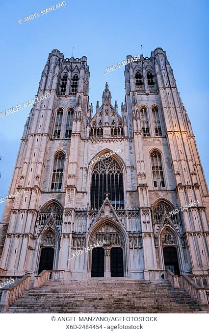 Cathedral of St. Michael and St. Gudula, Brussels