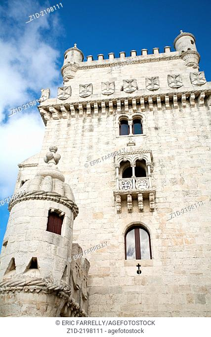 Belem Tower Belem Lisbon Portugal
