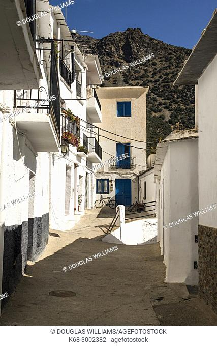 Village of Trevelez, Alpujarras, Andalucia, Spain