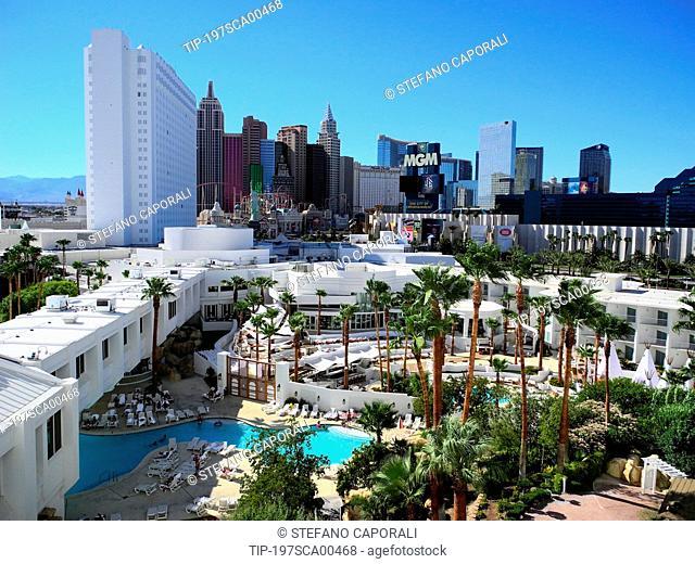 USA, Nevada, Las Vegas, Hotel and Casino