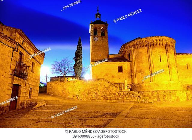 Church of San Miguel Arcangel in Caltojar, Soria, Spain