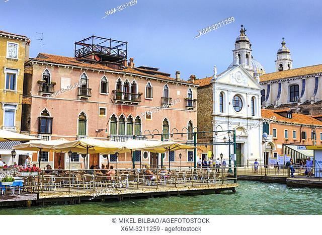 Santa Maria della Visitazione church. Venice, Italy. Europe