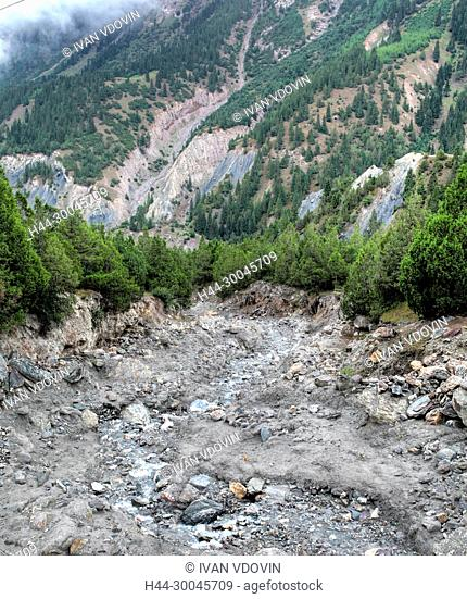 Kizilsu glacier park, Oytagh valley, Kizilsu Prefecture, Xinjiang Uyghur Autonomous Region, China