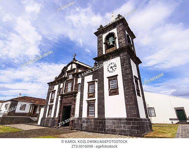 Main Church, Santa Cruz, Graciosa Island, Azores, Portugal