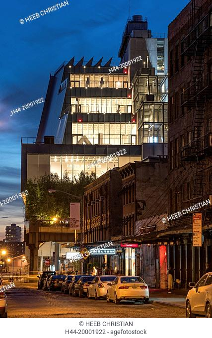 East Coast, New York, Manhattan, Chelsea, The Whitney Museum of American Art