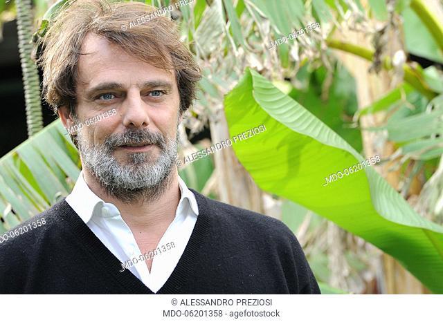 Italian actor Alessandro Preziosi at Liberi di Scegliere photocall. Rome, January 17th, 2019