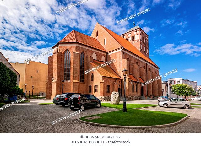 Basilica of The Beheading of John The Baptist, Chojnice, Pomeranian Voivodeship, Poland
