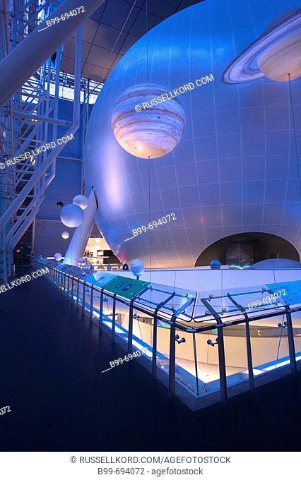 Hayden Planetarium. Rose Center. American Museum Of Natural History. Manhattan. New York. USA