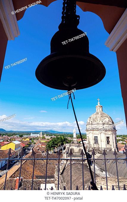 Nicaragua, Granada, Bell of La Merced Church