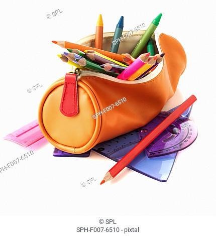 Full pencil case