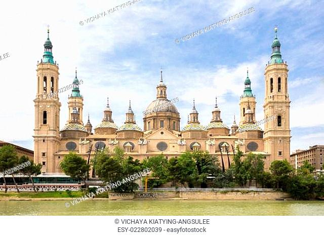 Basilica of Zaragoza Spain