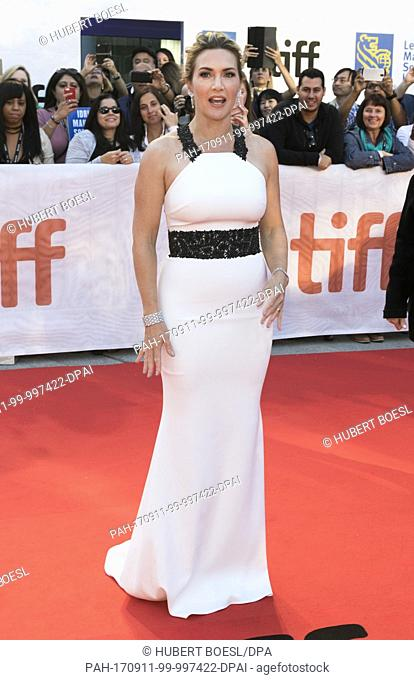 Kate Winslet attends the premiere of 'The Mountain Between Us' during the 42nd Toronto International Film Festival, tiff, at Bell Roy Thomson Hall in Toronto