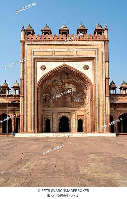 Jama Masjid, Friday Mosque, Fatehpur Sikri, India