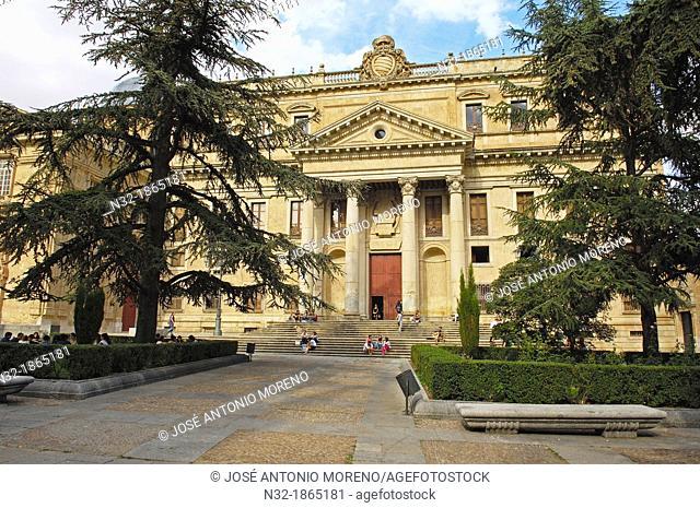 Anaya Palace now Faculty of Philology, University of Salamanca, Plaza de Anaya, Anaya Square, Salamanca, Via de la Plata, Castilla Leon, Spain