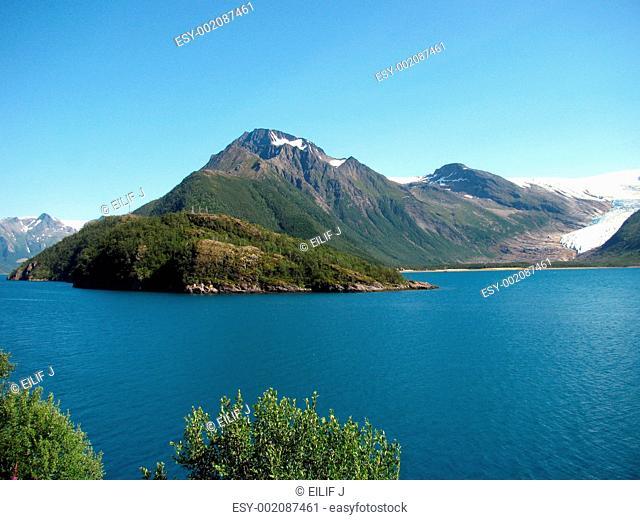 Isbree kystriksveien Norge, Bodø - Mo i Rana