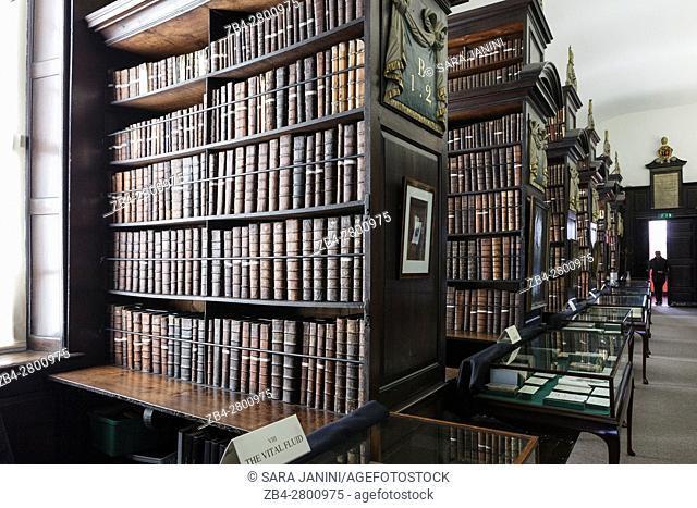 Marsh's Library, Dublin, Ireland, Europe
