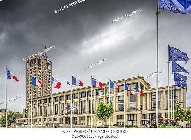 Hotel de Ville (City Hall), Le Havre, France