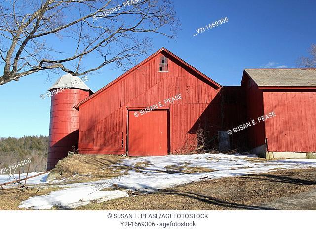 A barn in Shelburne, Massachusetts, United States