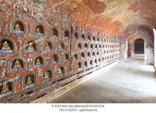 Shwe Yaunghwe Kyaung Monastery, Nyaungshwe, Inle Lake, Myanmar