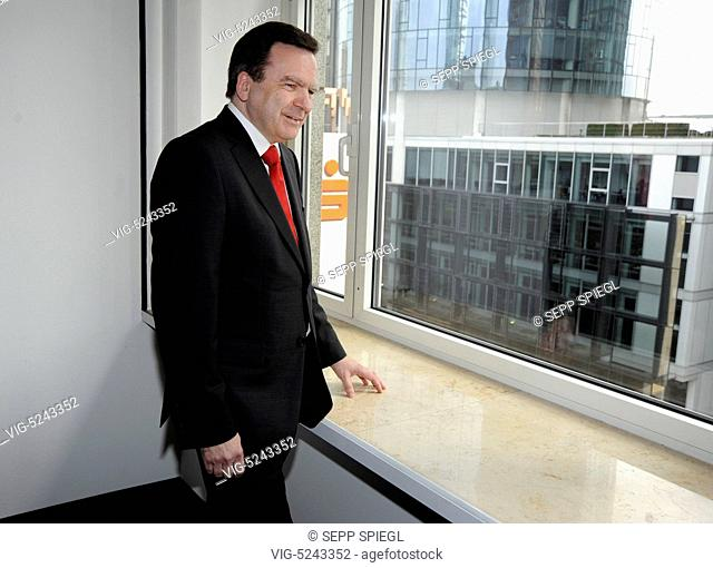 Germany, Frankfurt, 15/04/2015 According to financial circles, the previous CEO of Frankfurter Sparkasse, Herbert Hans Grüntker