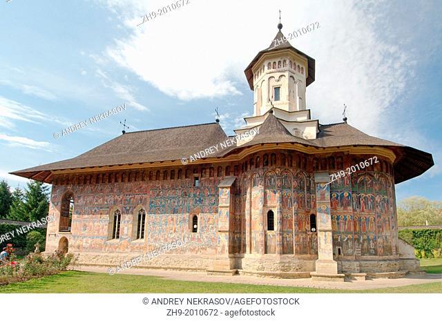Voronet Monastery (VoroneÈ›), Gura Humorului, Bukovina, Romania