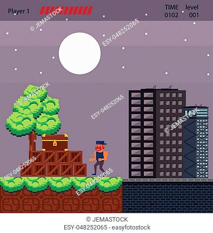 Bit video game Stock Photos and Images | age fotostock