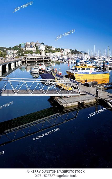 England Devon Torquay Marina New Harbour