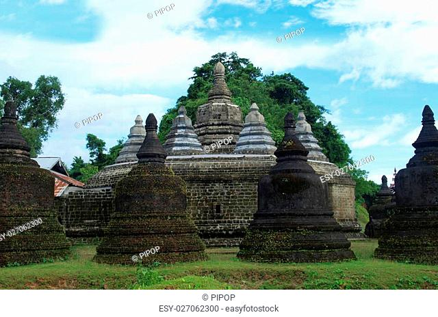 Andaw-thein temple in Mrauk U, sub region of the Sittwe District, Rakhine State, Myanmar. Andaw Thein is Tooth Shrine. It was named as such as it houses a tooth...