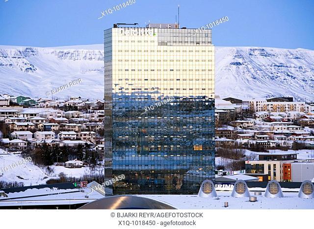 'Turninn' office building  Kopavogur, Iceland