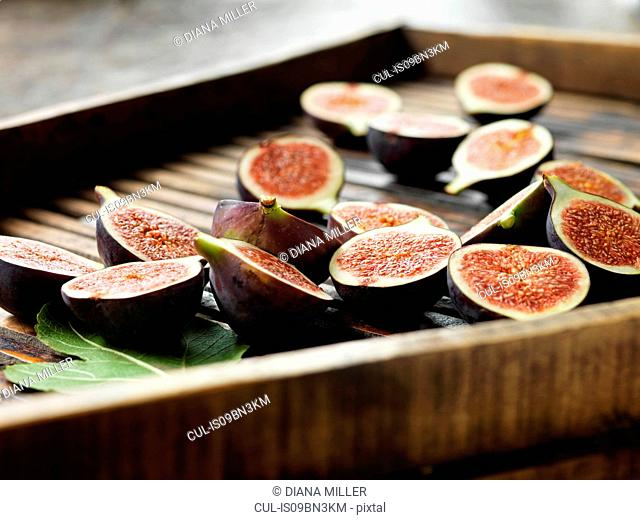 Figs on dryer