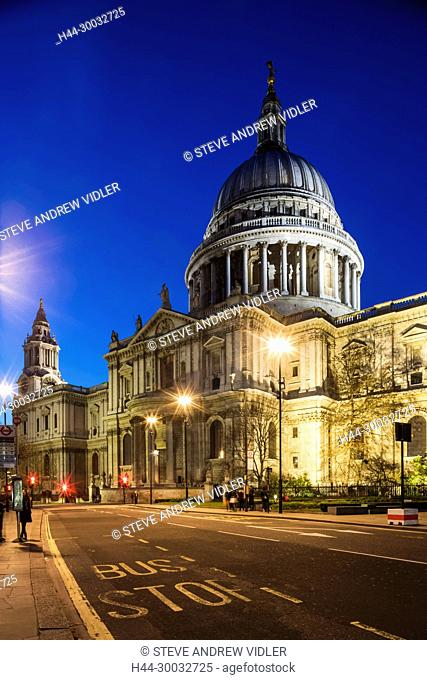 England, London, City of London, St.Pauls Cathedral