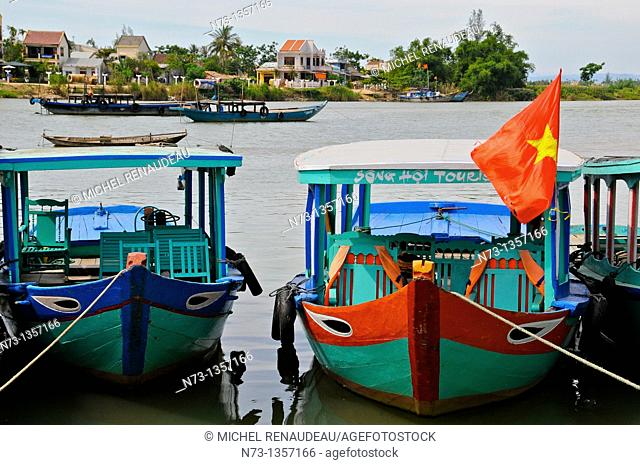 Vietnam, Quang Nam, Hoi An Old World Heritage city by UNESCO