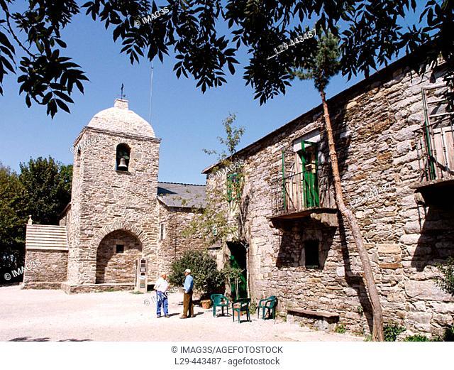 Santa María La Real church. O Cebreiro, Lugo. Spain