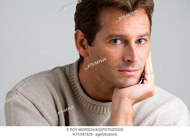 Portrait of Caucasian man