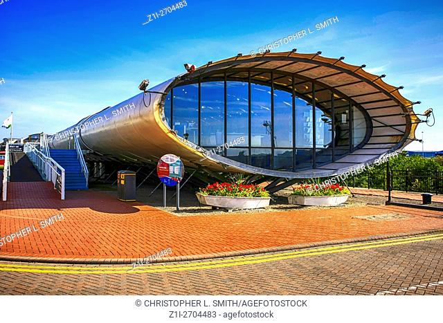 "Cardiff Bay Visitor Centre """"The Tube"""" Wales"