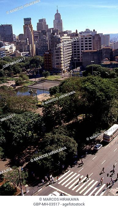Praça da Sé; Banespa Building; Downtown; Sao Paulo; Brazil