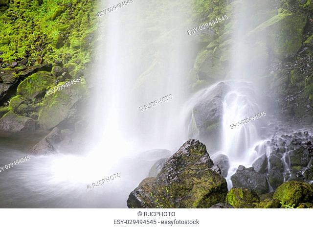 Elowah Falls in the Columbia River Gorge, Oregon