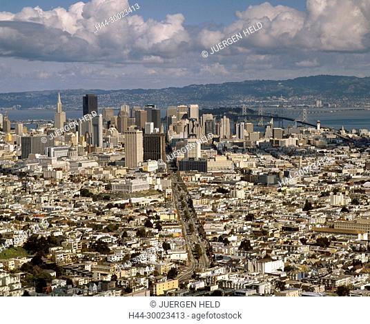 USA, Los Angeles, panoramic view, downtown LA , skyline
