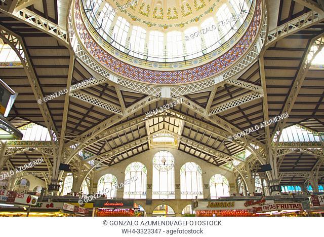Central Market. Valencia. Comunidad Valenciana. Spain