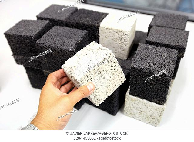 Study of concrete samples, Technology Research Center, Tecnalia Construction, CIDEMCO-Tecnalia Research & Innovation, development of new products and innovative...