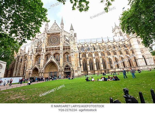London, Westminster Abbey, UK