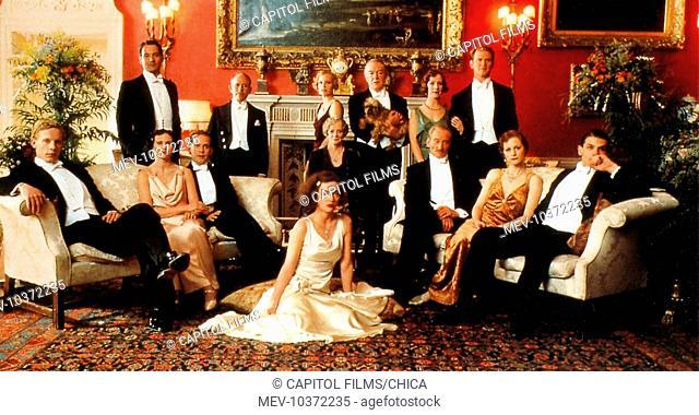 GOSFORD PARK LAURENCE FOX, JEREMY NORTHAM, NATASHA WIGHTMAN, TOM HOLLANDER, BOB BALABAN, KRISTIN SCOTT THOMAS, MAGGIE SMITH, CAMILLA RUTHERFORD, MICHAEL GAMBON