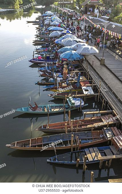 KlongHae Floating Market, Hatyai, Thailand