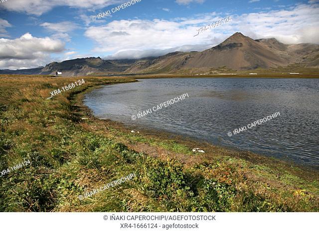 Snaefellsjokull National Park Valley, Snaefellnes, Iceland